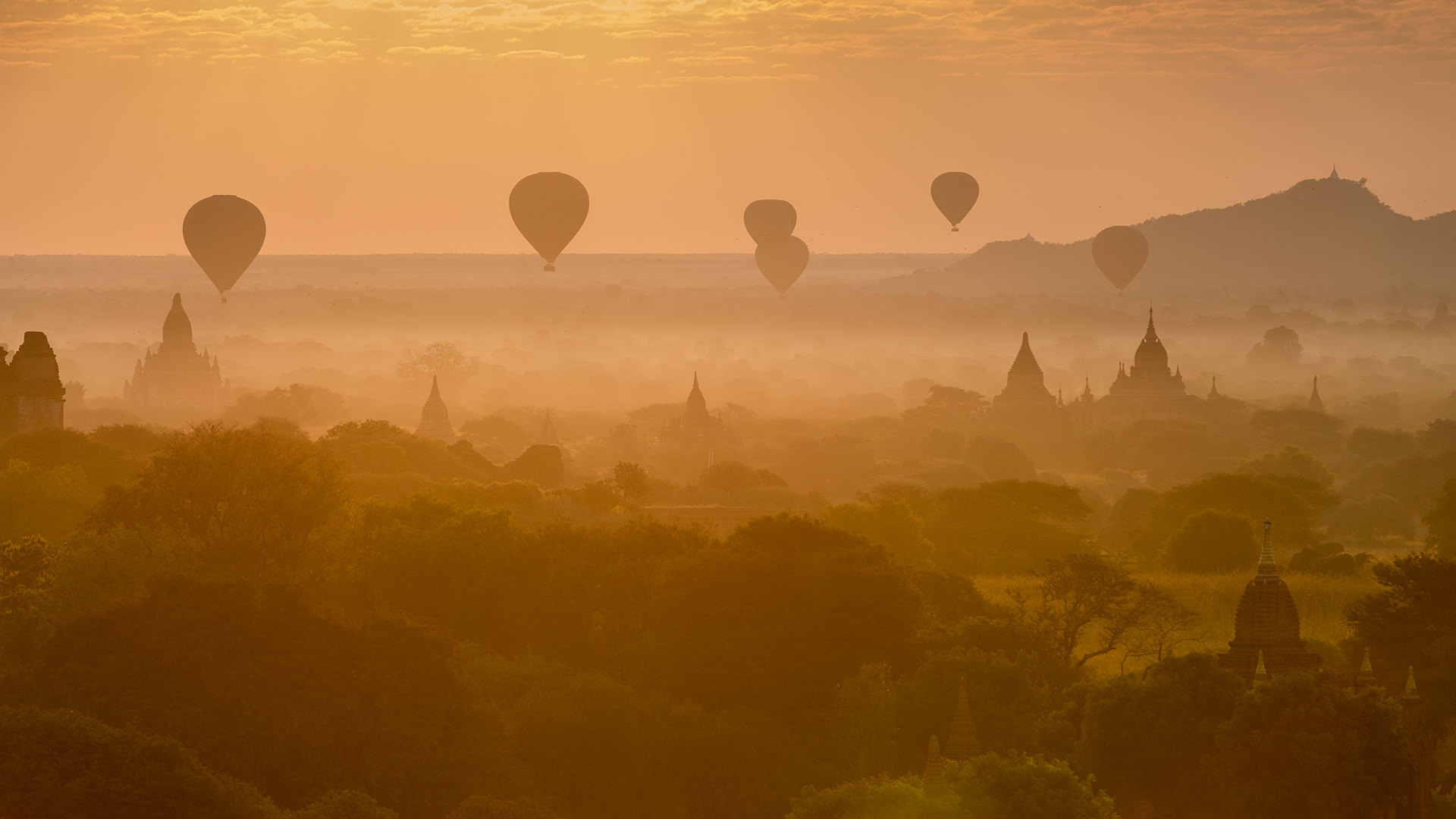 Królestwo Pagan, Mjanma - fot. Tomasz Stolz