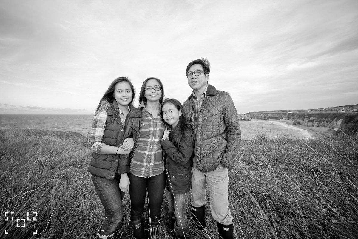 Ramos Family - Soutshield Beach / UK