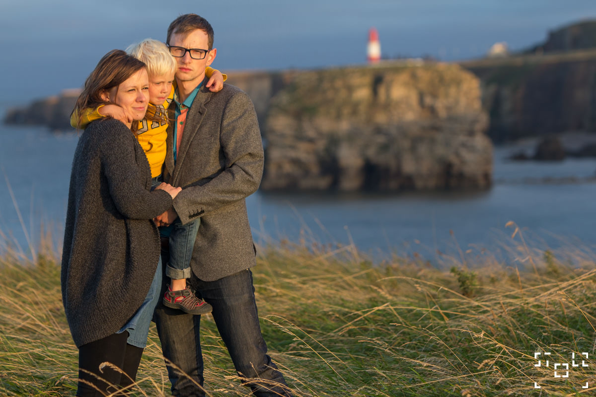 Willow Family, South Shields Beach